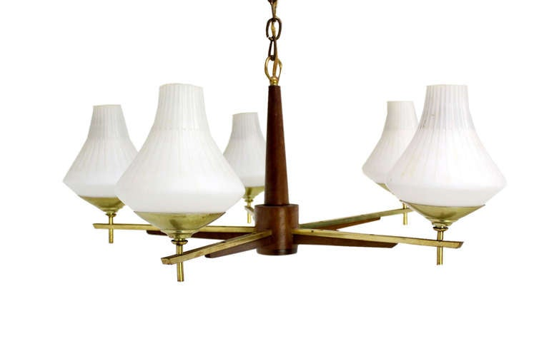 mid century light fixtures