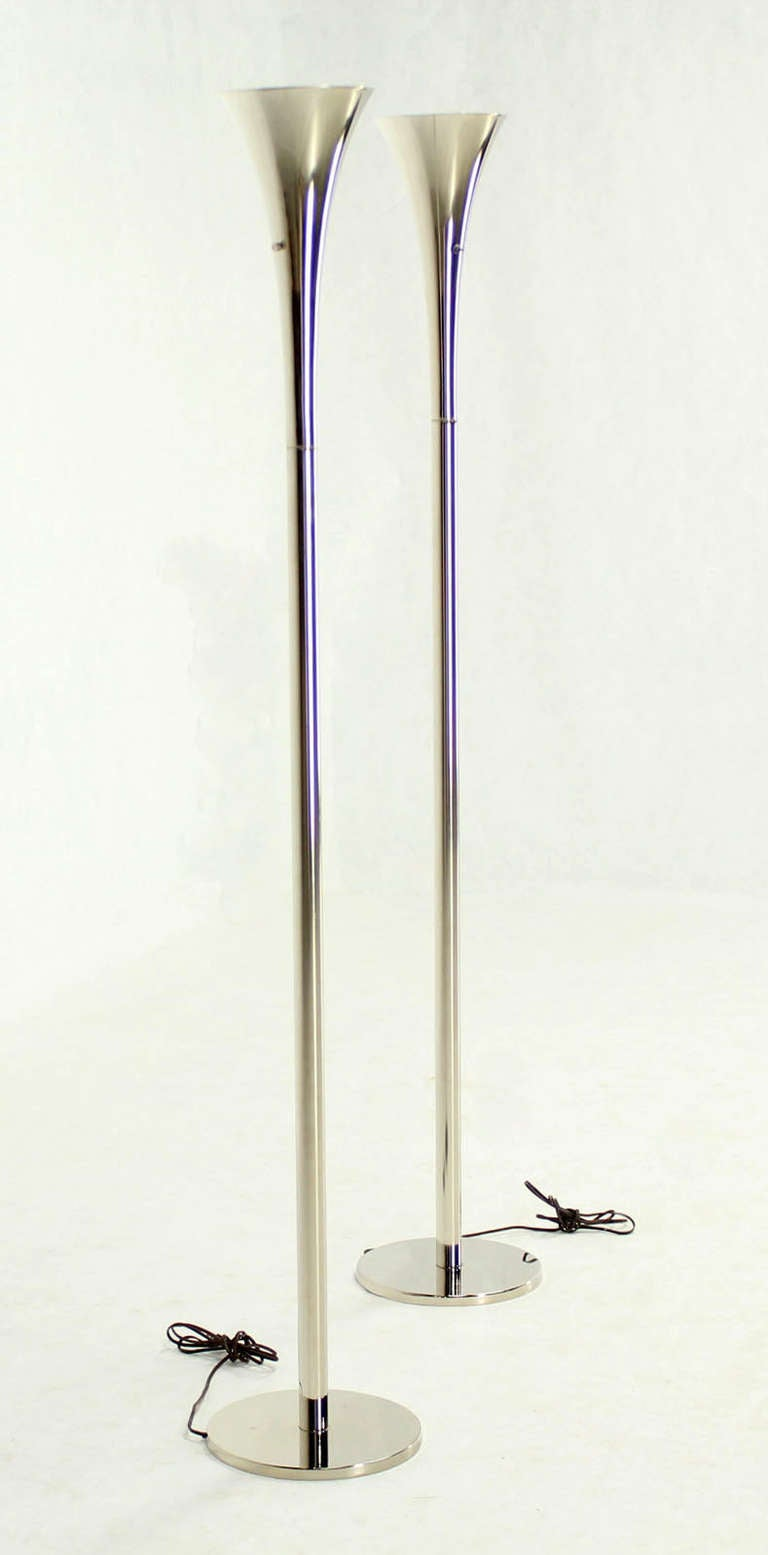 Mid Century Modern Floor Lamp Torcheres By Laurel For Sale At 1stdibs