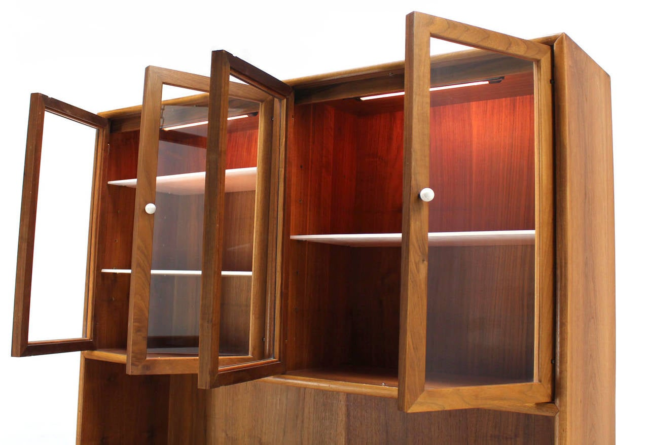 Drexel Declaration Two Part Cabinet For Sale 1