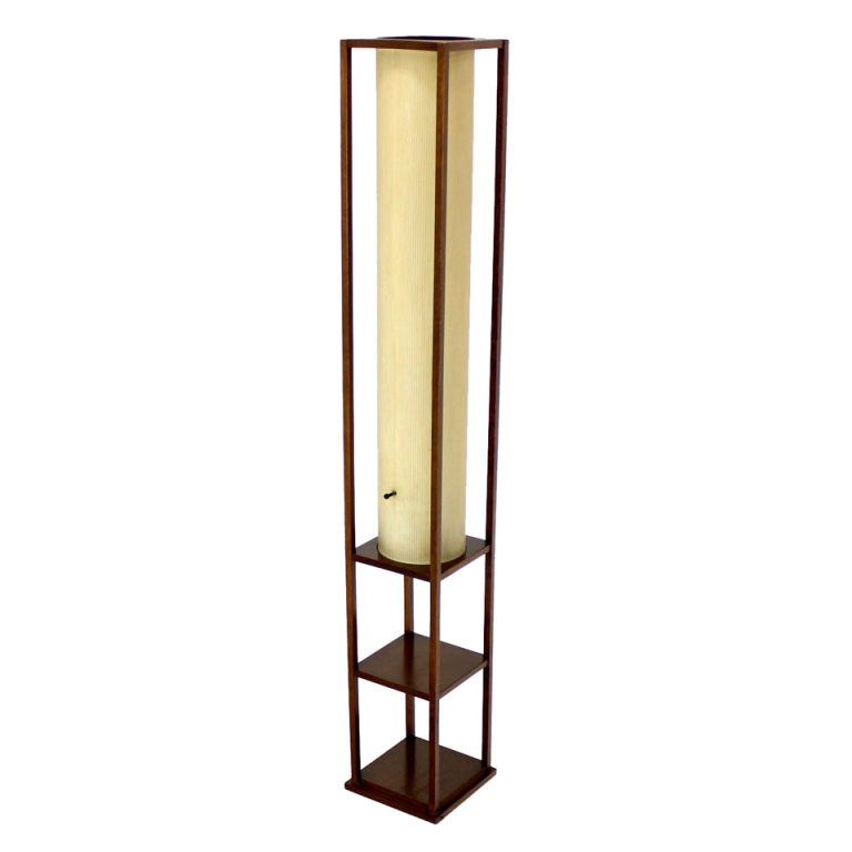 Danish Mid Century Modern Floor Lamp Stand At 1stdibs