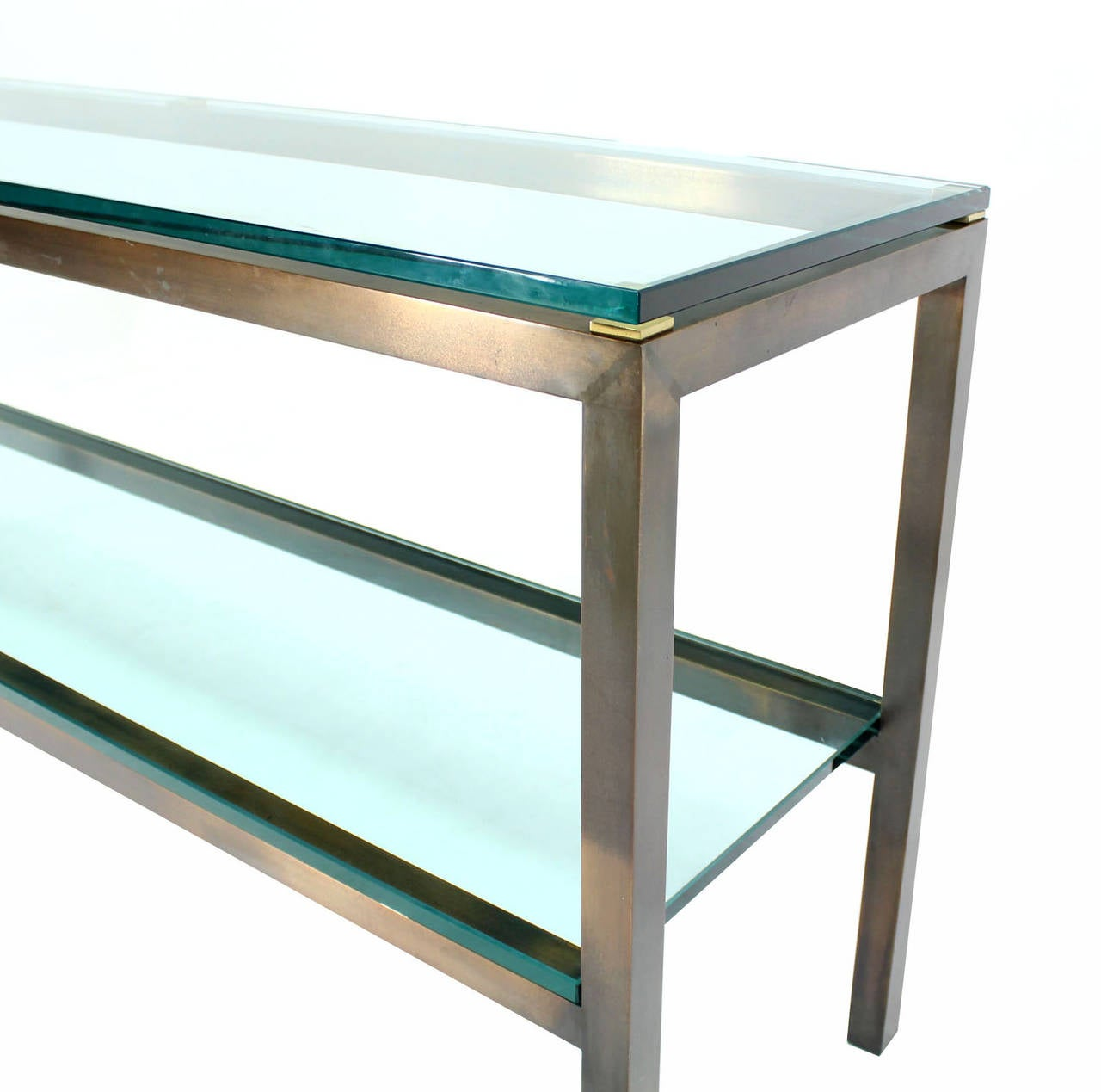 Large solid brass console table by mastercraft at 1stdibs for Sofa table large