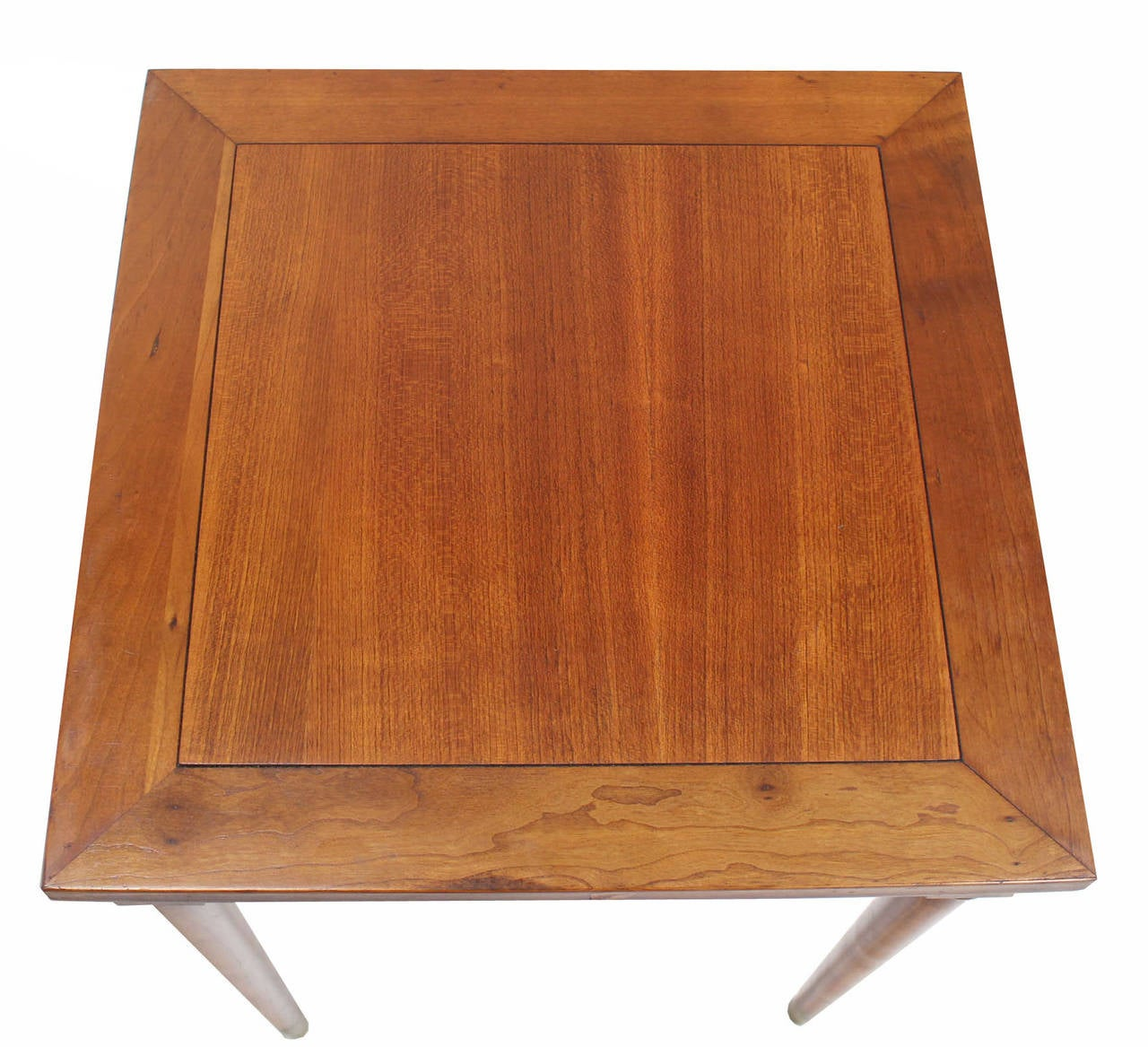 20th Century Set of Three Mid-Century Modern Walnut Nesting Tables For Sale