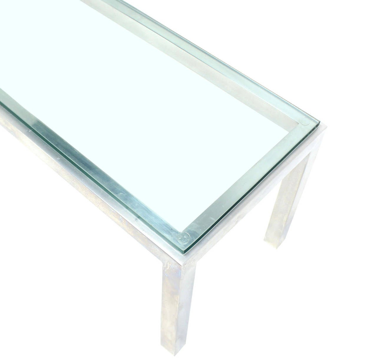 Https Www 1stdibs Com Furniture Tables Coffee Tables Cocktail Tables Aluminum Metal Frame Small Coffee Table Id F 2304432