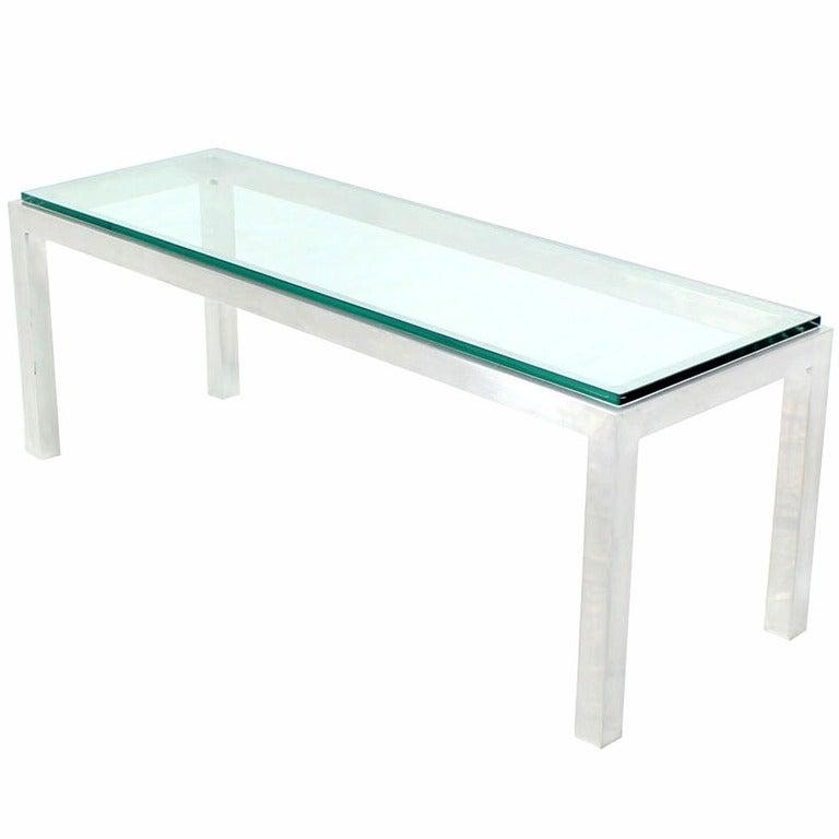 Prime Square Aluminum Metal Frame Small Coffee Side Table Long Rectangle Creativecarmelina Interior Chair Design Creativecarmelinacom