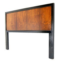Harvey Probber Rosewood Queen Size Headboard