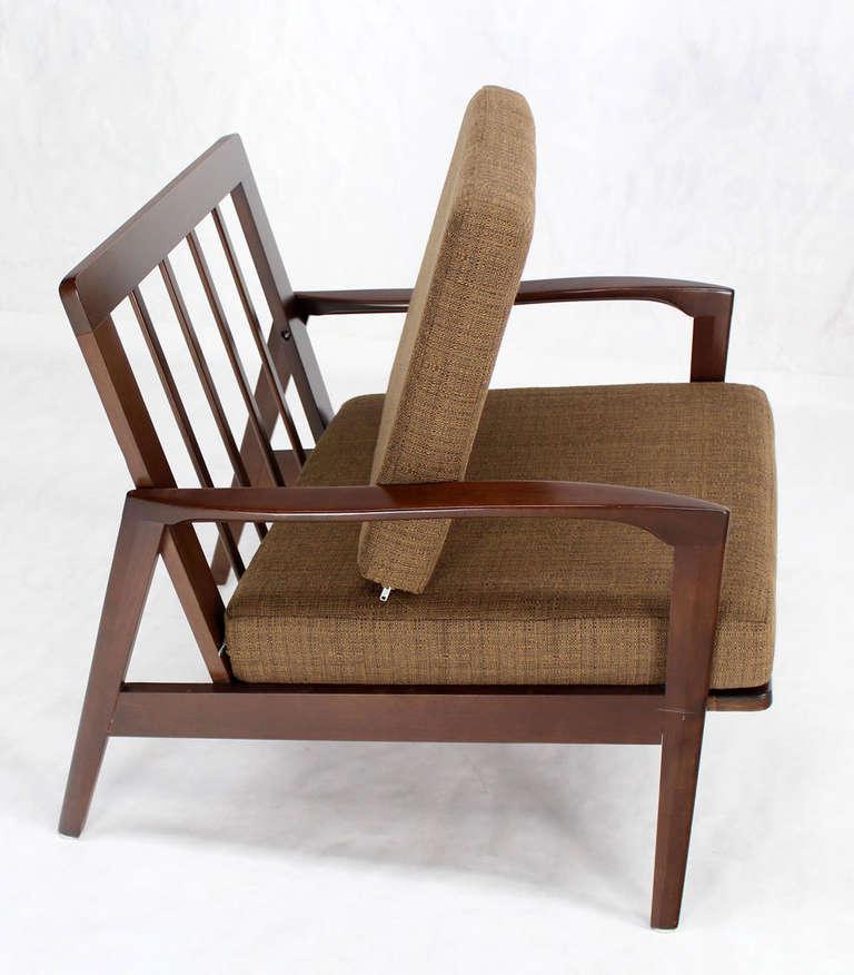 Pair of Danish Mid Century Modern Lounge Chairs at 1stdibs