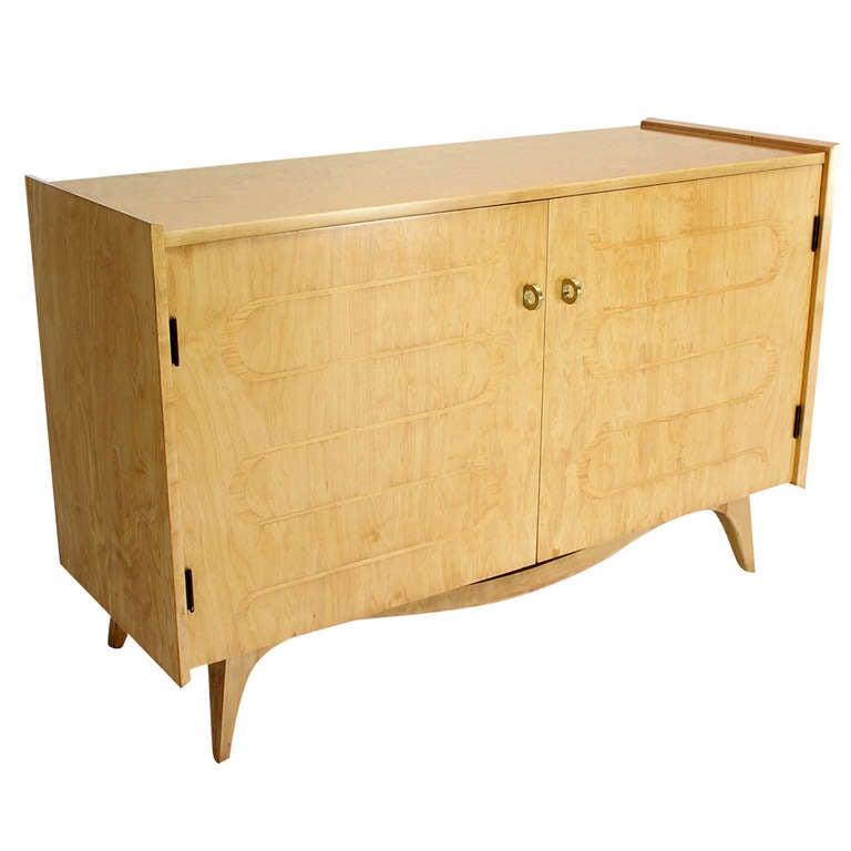 Edmond Spence Blonde Swedish Cabinet Dresser Or Chest Of