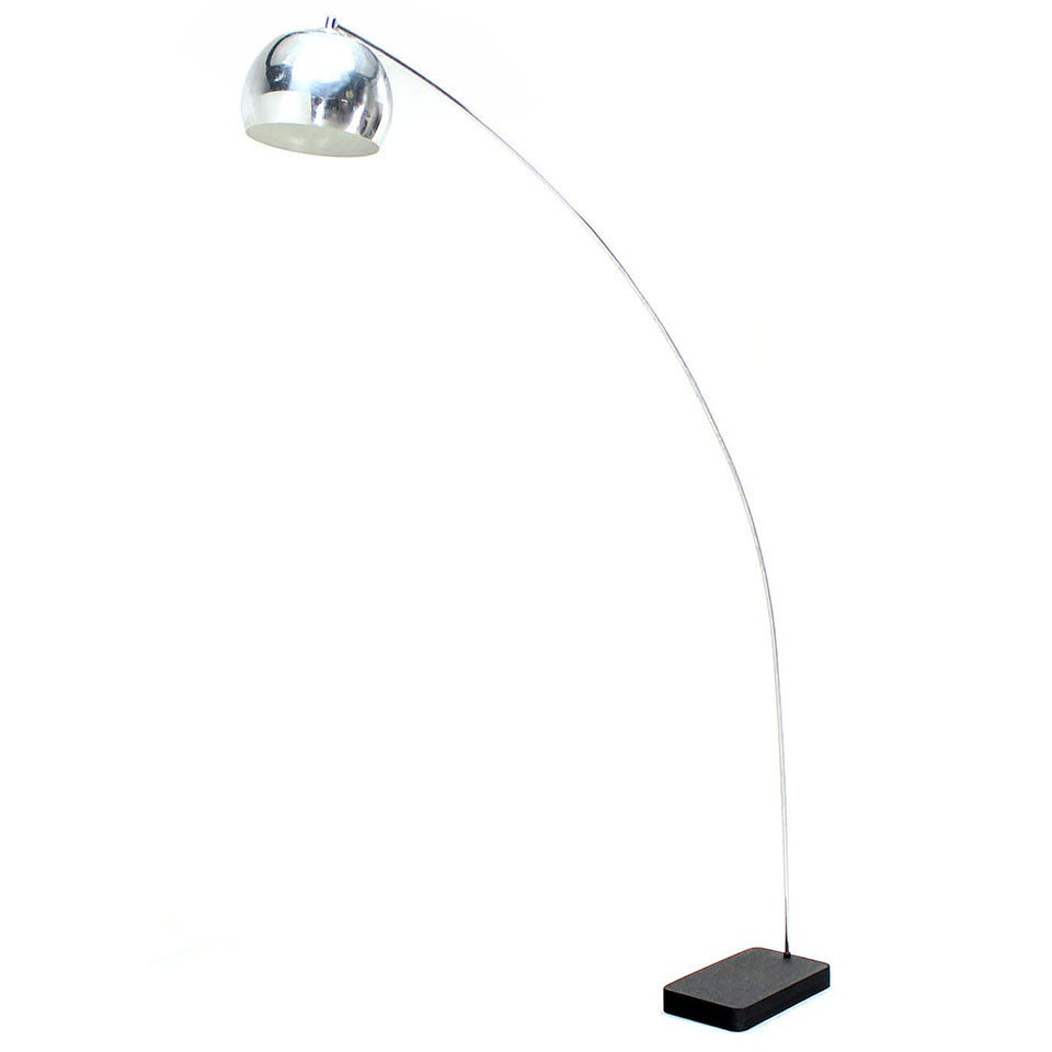 Midcentury arco adjustable floor lamp for sale at 1stdibs arco floor lamp aloadofball Gallery