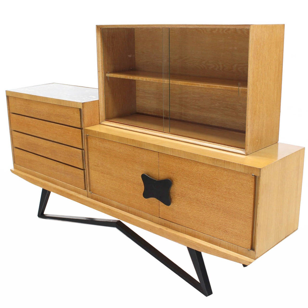 ... -Piece Dresser and Bookcase, Mid-Century Modern For Sale at 1stdibs