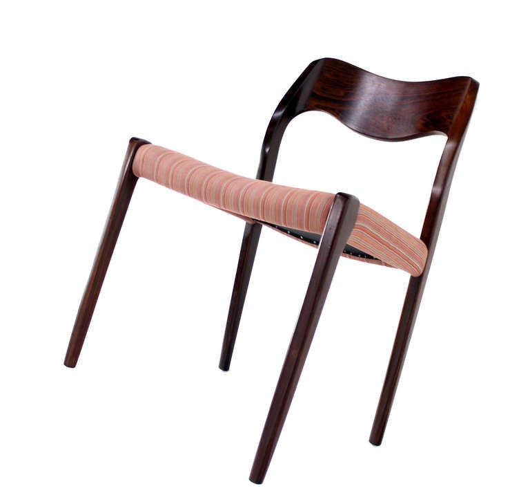 6 JL Moller Danish Mid Century Modern Rosewood Chairs At 1stdibs