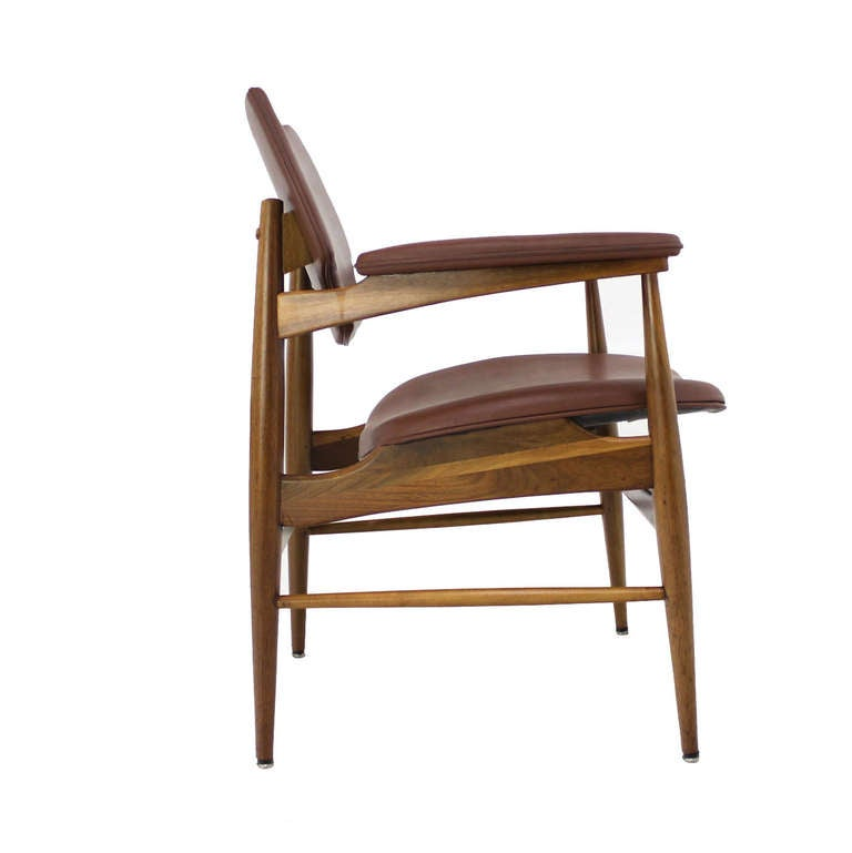 Six Mid Century Modern Danish Dining Chairs By Thonet At 1stdibs