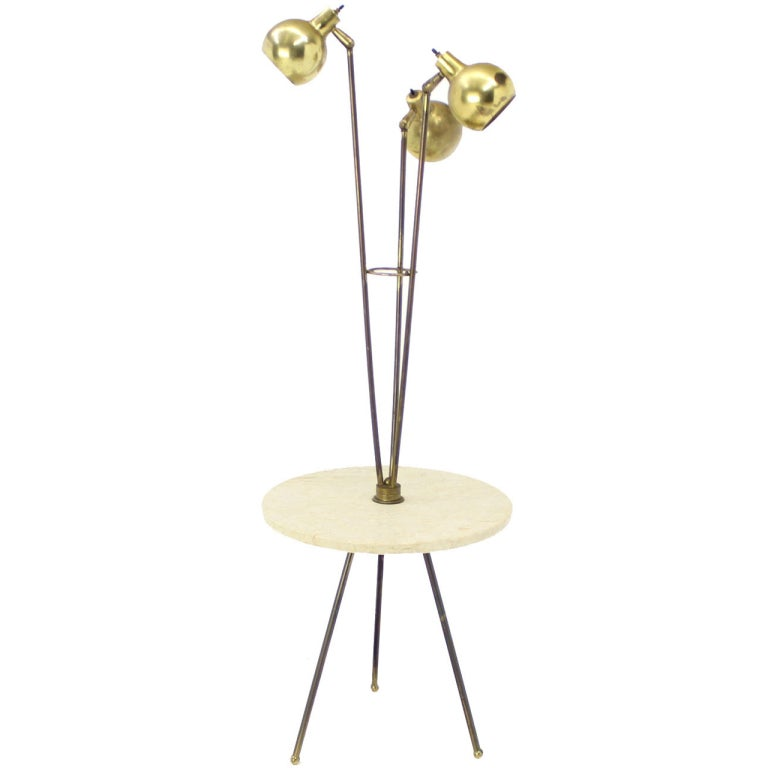 century modern marble side table floor lamp is no longer available. Black Bedroom Furniture Sets. Home Design Ideas