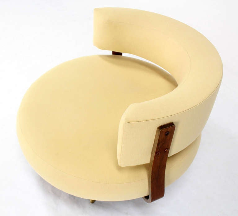 Adrian Pearsall Round Lounge Chair