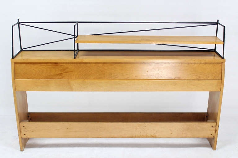 Full Size Mid-Century Modern Headboard by Paul McCobb For Sale 3