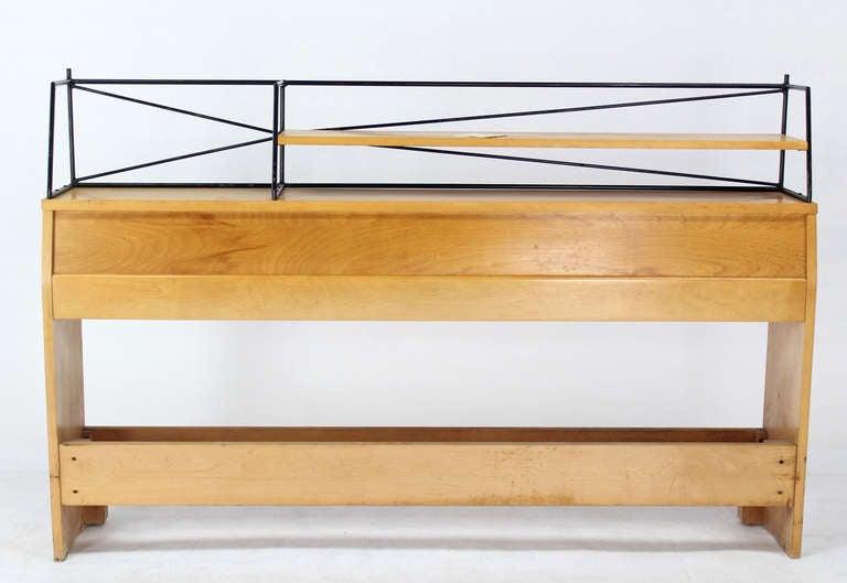 Full Size Mid-Century Modern Headboard by Paul McCobb For Sale 4