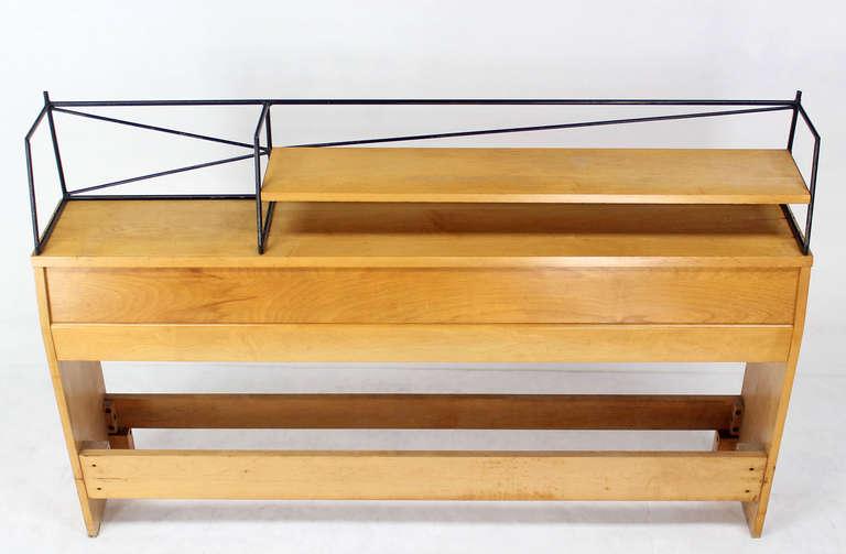 20th Century Full Size Mid-Century Modern Headboard by Paul McCobb For Sale