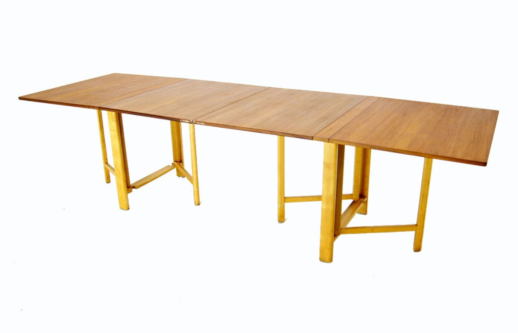 dining table folding leaf dining table