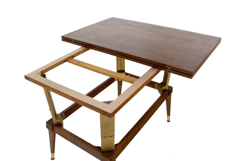 Coffee Or Dining Convertible Table For Sale At 1stdibs