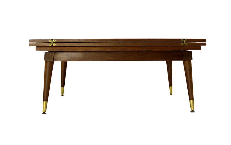 Coffee Or Dining Convertible Table At 1stdibs