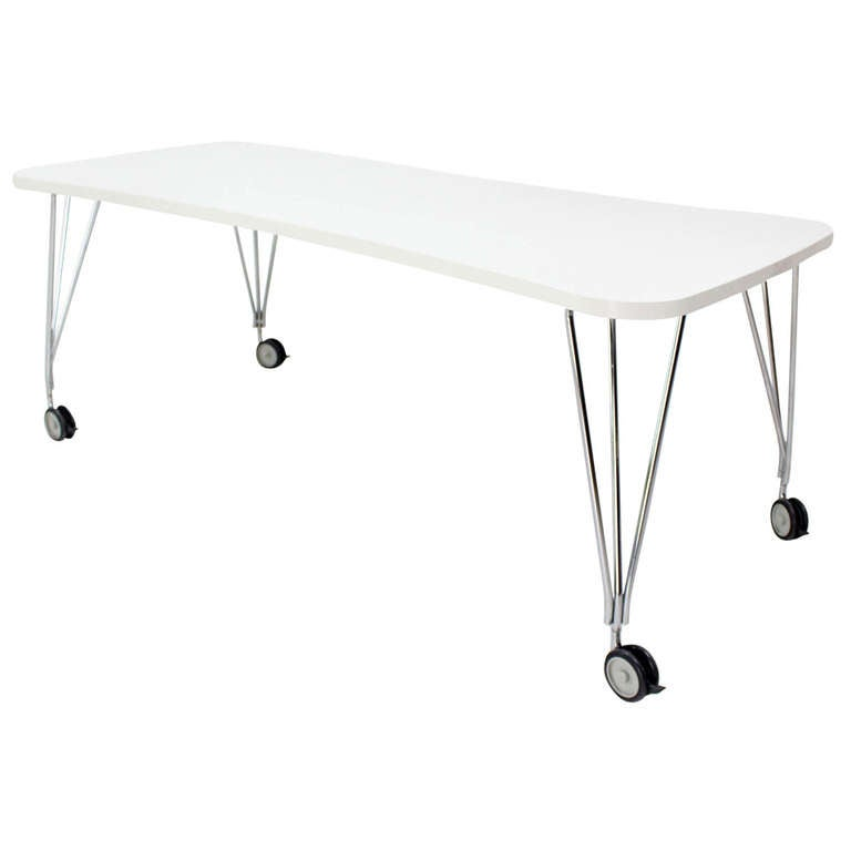 Medium Kartel Max Dining Or Conference Table On Wheels For Sale At - Office max conference table