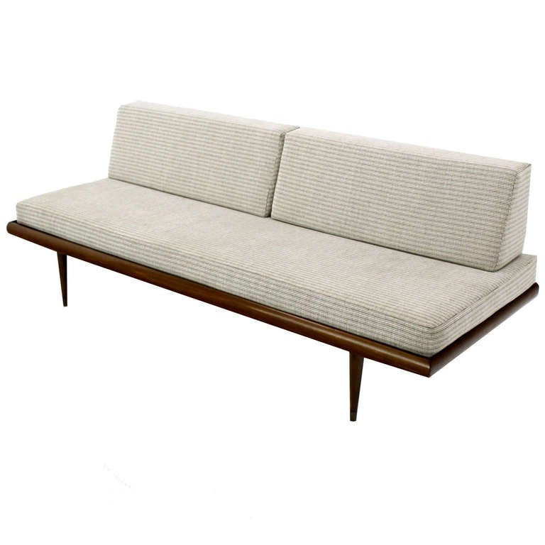 danish mid century modern daybed sofa at 1stdibs