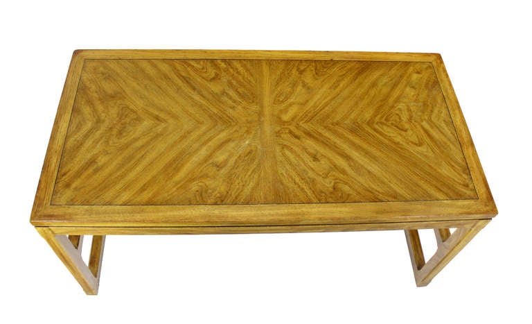 American Drexel Mid Century Modern Writing Table Desk For Sale
