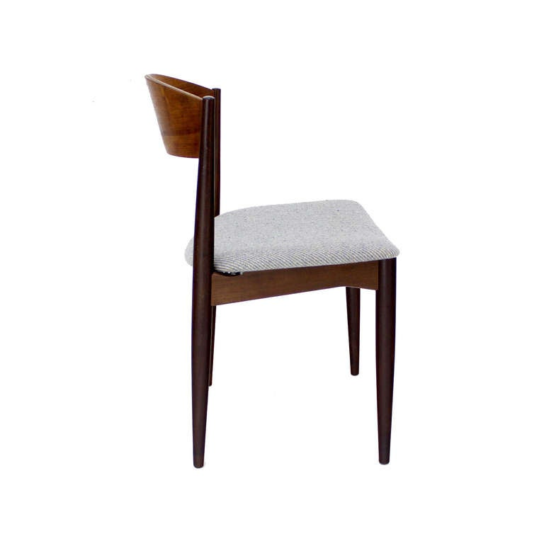 Set Of 4 Danish Mid Century Modern Teak Dining Chairs At 1stdibs