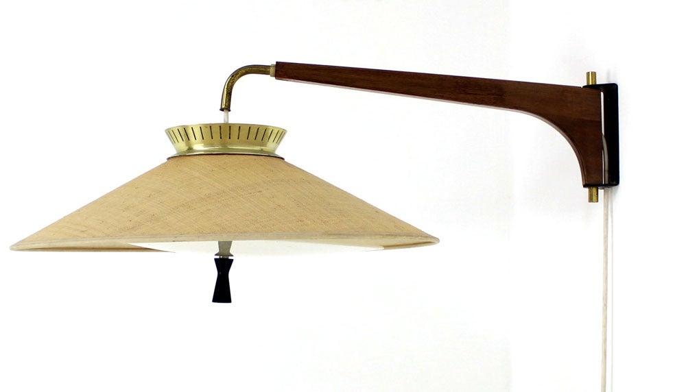 Gerald thurston danish mid century modern light fixture for Danish modern light fixtures