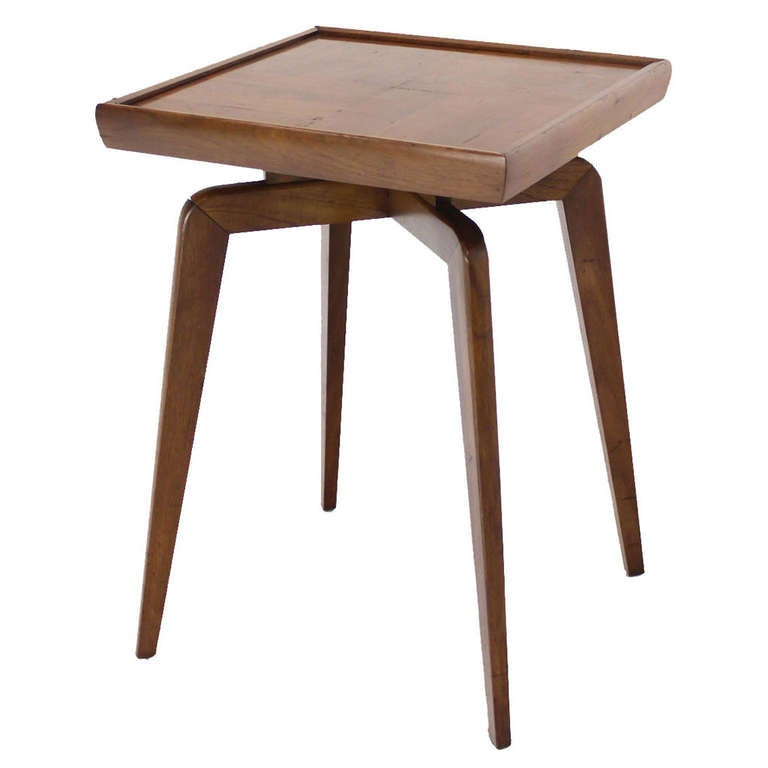 Mid-Century Modern Spider Leg Style Occasional Table