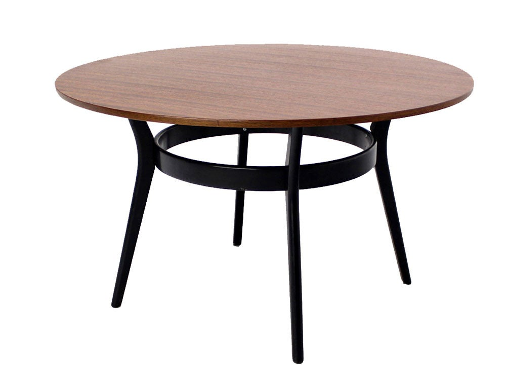 Danish mid century modern bridge game table by g plan at for Contemporary game table and chairs