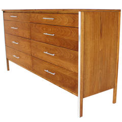 Paul McCobb for Calvin Double Long Dresser Credenza Cabinet