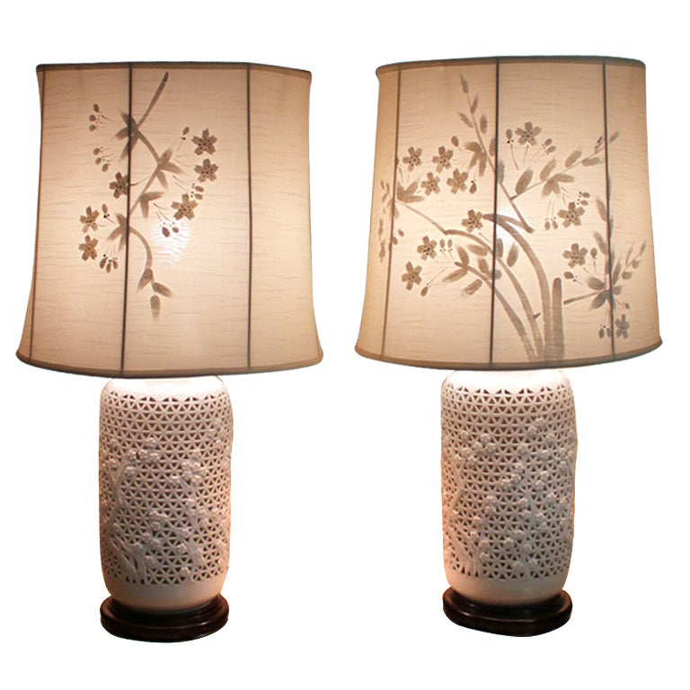 oriental lamp shades
