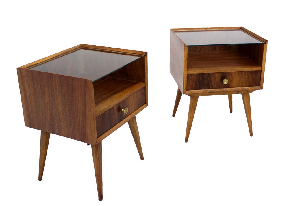 Pair of swedish mid century modern end tables image 5 Modern side table