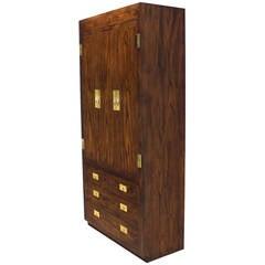 Henredon Chifforobe Dresser with Brass Pulls