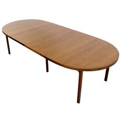 Danish Mid Century Modern Dining Banquet Conference Table Dux