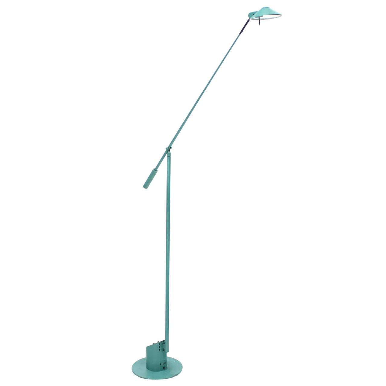 Robert Sonneman for Kovacs Adjustable Cantilever Floor Reading Lamp