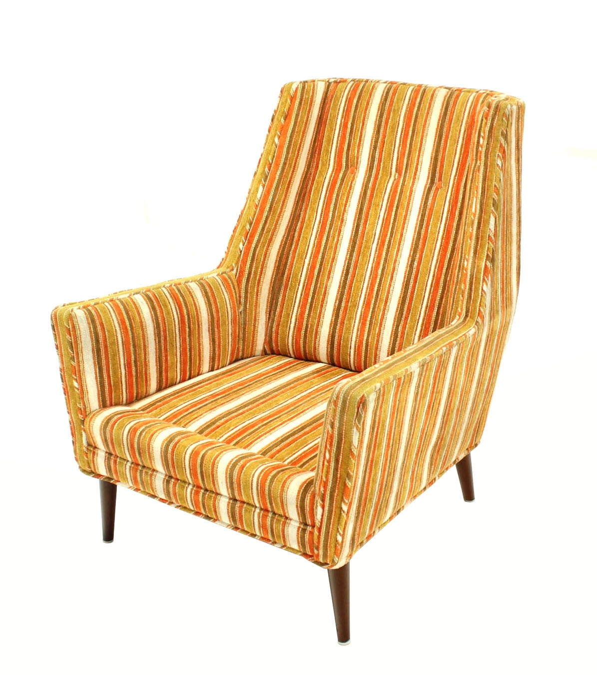 Mid century modern lounge chair for sale at 1stdibs for Mid century modern club chairs