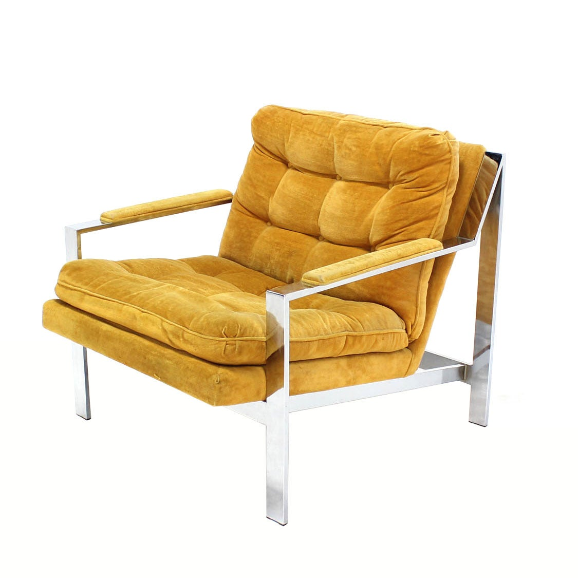 pair of mid century modern lounge chairs by baughman at 1stdibs