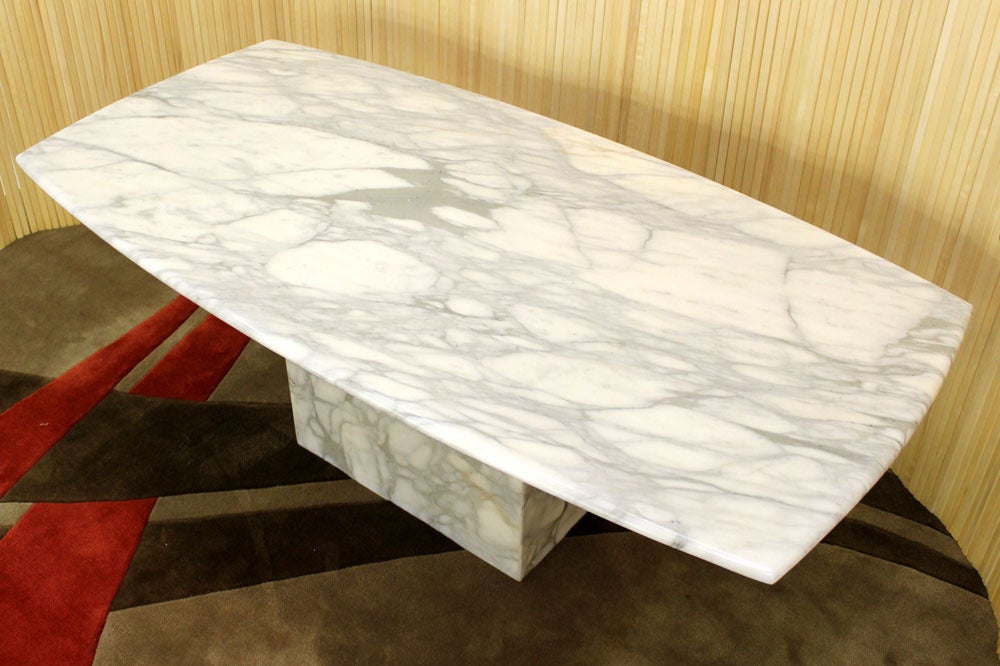 single pedestal dining table with leaf mid century modern marble top extending antique