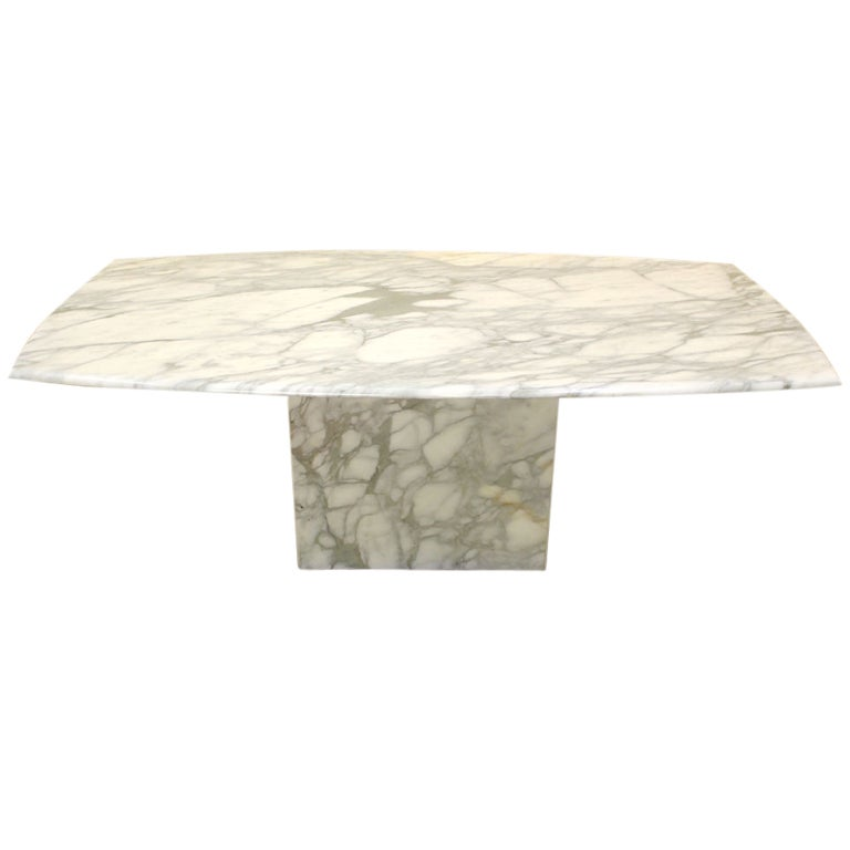 Mid Century Modern Single Pedestal Marble Top Dining Table : XXX883713533598091 from www.1stdibs.com size 768 x 768 jpeg 24kB
