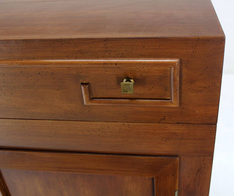 Art Deco Mid-Century Modern Refrigerated Bar Liquor Cabinet For ...