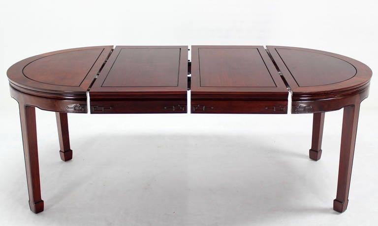 Oriental Modern Solid Rosewood Dining Set Table Eight  : IMG2896l from www.1stdibs.com size 768 x 461 jpeg 29kB