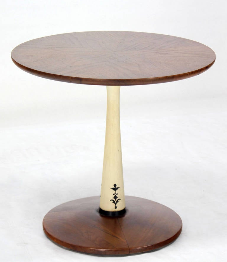 Mid Century Modern Round Side Table : Home > Furniture > Tables > Side Tables