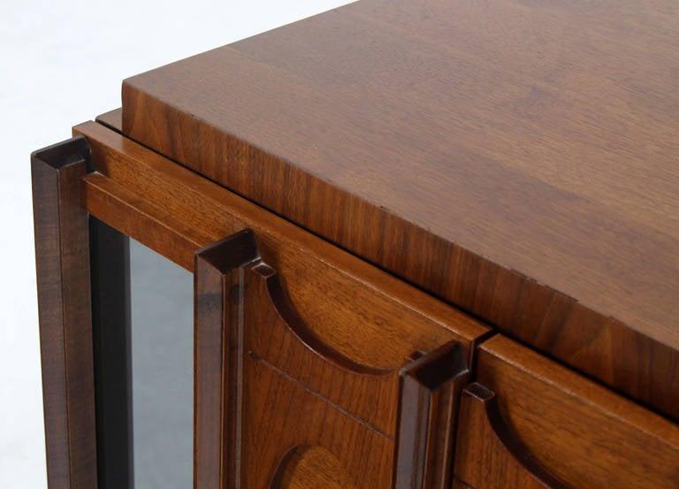 Very nice mid-century modern walnut nightstand.