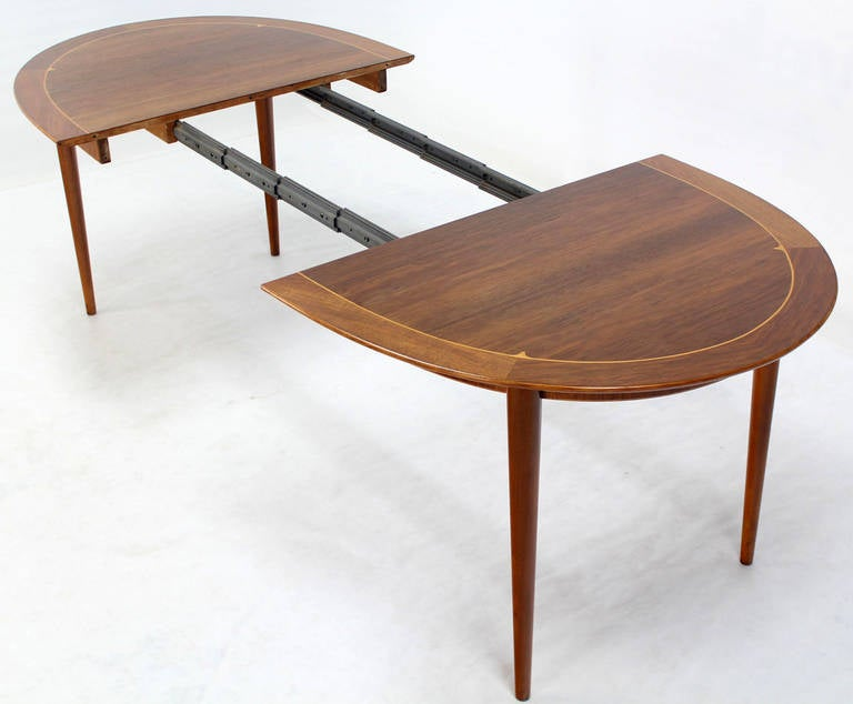 mid century swedish modern oval dining table by edmond spence image 9