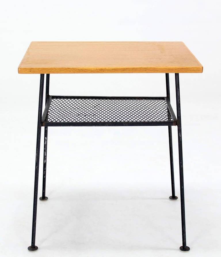 Mid century modern side or end table for sale at 1stdibs Modern side table