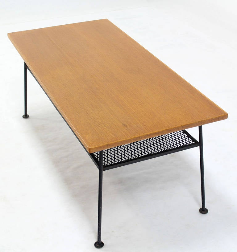Mid century modern coffee table by mattieu mategot for for Modern coffee table for sale