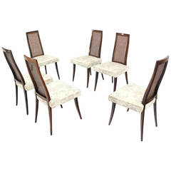 Set of Six Harvey Probber Dining Chairs