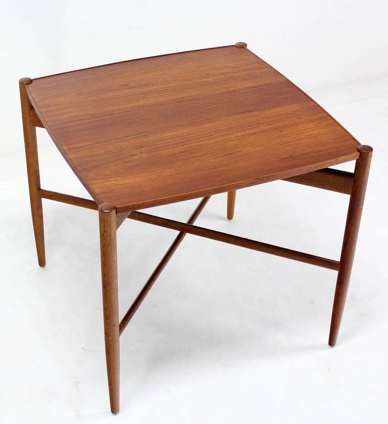 Danish Mid Century Modern Folding Reversible Sides Game