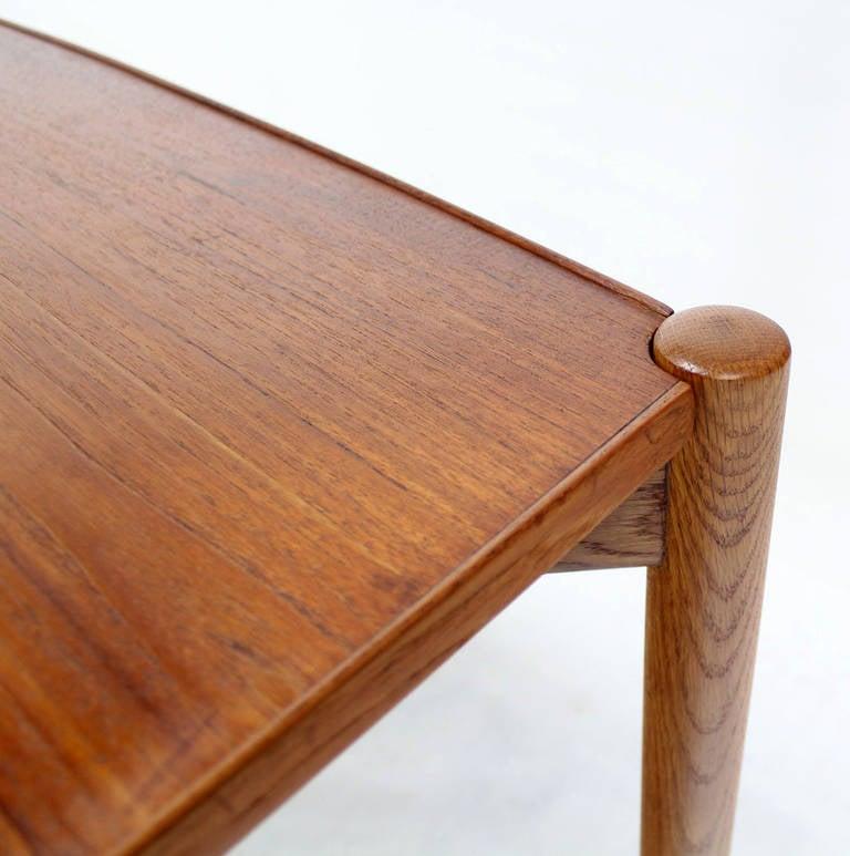 Danish Mid Century Modern Folding Reversible Sides Game